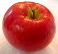 Honeycrisp apple (Bar Lois Weeks photo)