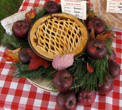 One of the more imaginative entries from last year's 2nd Annual New England Apple Pie Contest. (Russell Steven Powell photo)